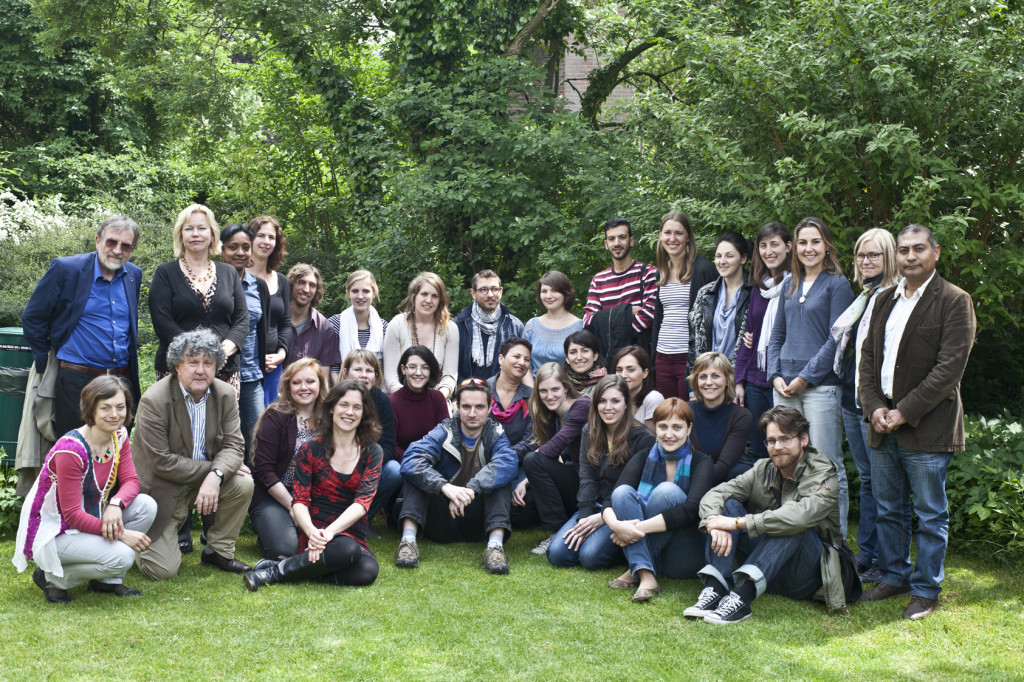 De groep die de UvH bezocht in 2013 (Foto: Jos Kuklewski)