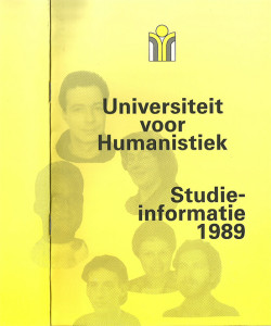 Voorkant eerste brochure