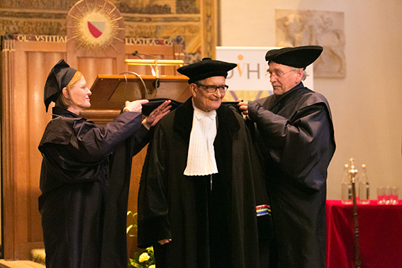 Amartya Sen (Foto: Lilian van Rooij)